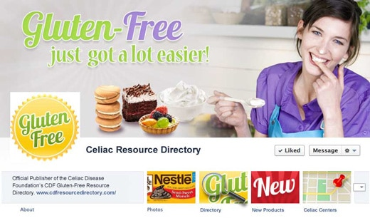 Gluten-Free Resource Directory Facebook Cover