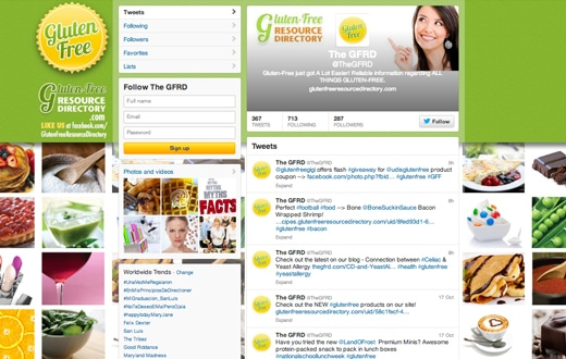 Gluten-Free Resource Directory Twitter Cover