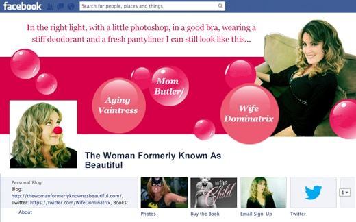 The Woman Formerly Known As Beautiful Facebook Cover