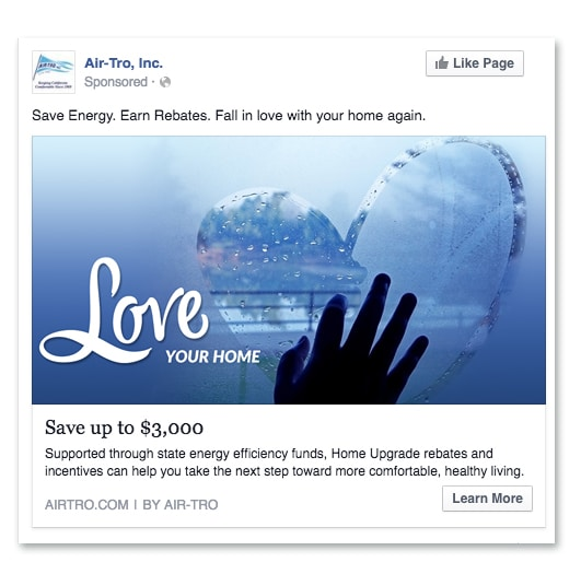Air-Tro Facebook Ad Campaign