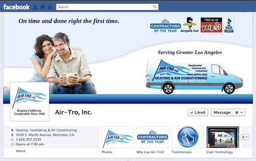 Air-Tro Facebook Cover