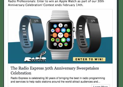 Radio Express Facebook Ad Campaign