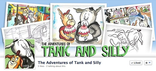 Tank and Silly Facebook Cover